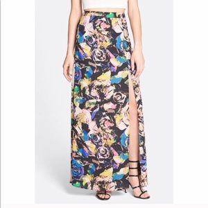 NWOT - ASTR Floral Maxi Skirt - M